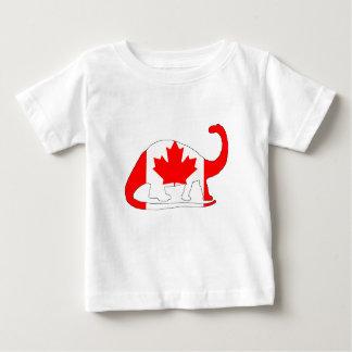 Brontosaurus Canada Baby T-Shirt
