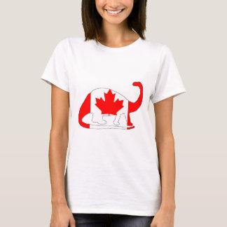 Brontosaurus Canada T-Shirt