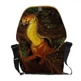 Brontosaurus Dinosaur Messenger Bag Gregory Paul