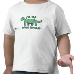 Brontosaurus I'm the Little Brother T Shirt