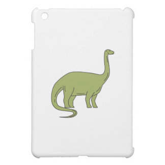 Brontosaurus Mono Line Cover For The iPad Mini