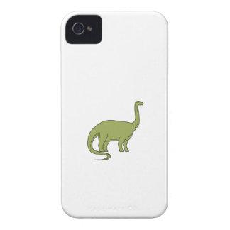 Brontosaurus Mono Line iPhone 4 Case-Mate Cases