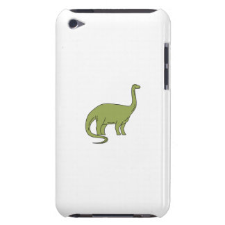 Brontosaurus Mono Line iPod Touch Cases