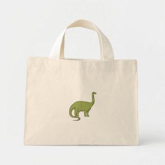Brontosaurus Mono Line Mini Tote Bag