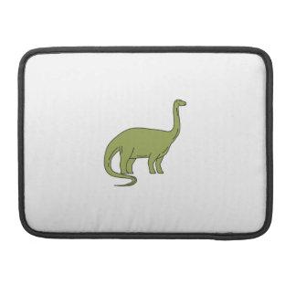 Brontosaurus Mono Line Sleeve For MacBooks