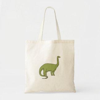 Brontosaurus Mono Line Tote Bag