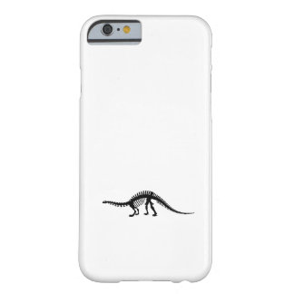 brontosaurus skeleton barely there iPhone 6 case