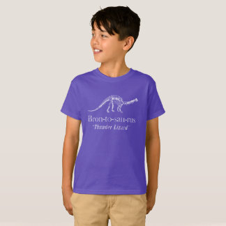 Brontosaurus Thunder Lizard T-Shirt