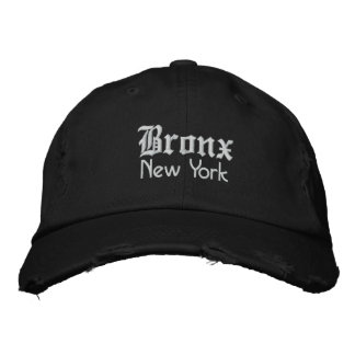 bronx bold embroidered hat