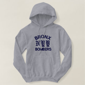 Bronx Bombers Embroidered Hoodie