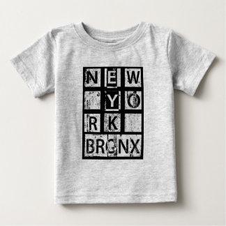 Bronx New York | Grunge Typography Baby T-Shirt
