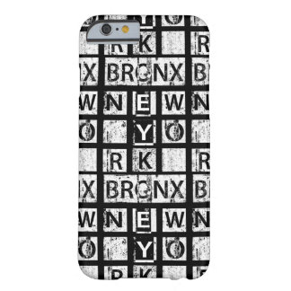 Bronx New York   Grunge Typography Barely There iPhone 6 Case