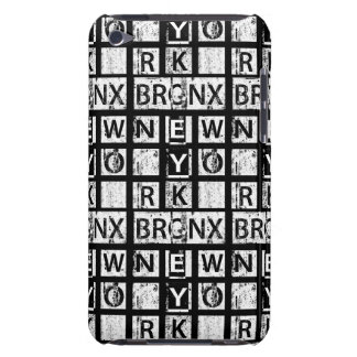Bronx New York | Grunge Typography Case-Mate iPod Touch Case