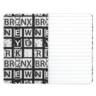 Bronx New York | Grunge Typography Journal
