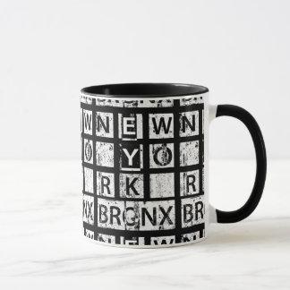 Bronx New York | Grunge Typography Mug
