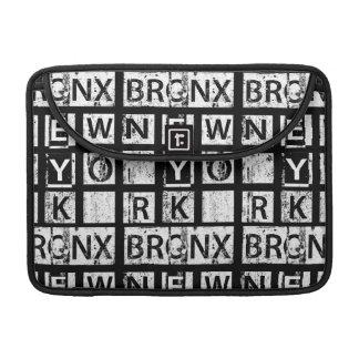 Bronx New York | Grunge Typography Sleeve For MacBook Pro
