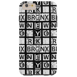 Bronx New York | Grunge Typography Tough iPhone 6 Plus Case
