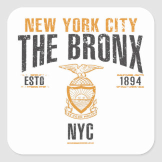 Bronx Square Sticker
