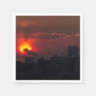 Bronx Sunset Paper Napkin