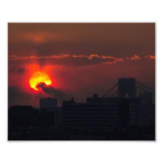 Bronx Sunset Photo Print