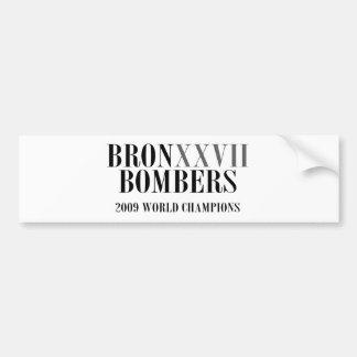 bronxxvIIbombers_ROMAN Bumper Sticker