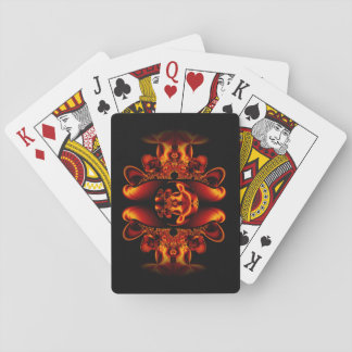 Bronze Beauty Playing Cards