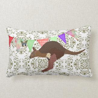 Bronze & Blush Wallaby Mojo Pillow
