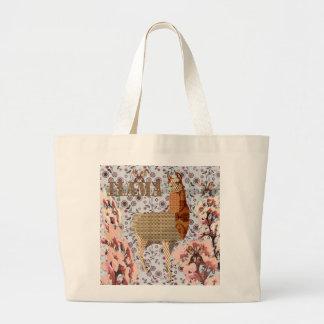 Bronze Boho Llama Bag