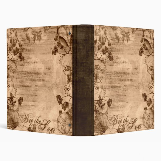 Bronze By the Sea Binder