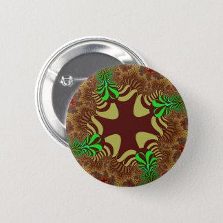 Bronze Cross Button