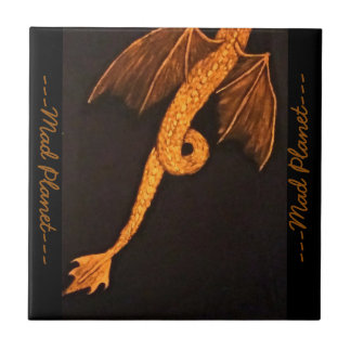 Bronze Dragon Body Tile