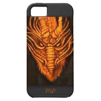 Bronze Dragon Head iPhone 5 Cover