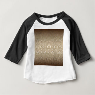 Bronze, gold,Art nouveau, art deco, vintage, Baby T-Shirt