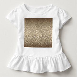 Bronze, gold,Art nouveau, art deco, vintage, patte Toddler T-shirt