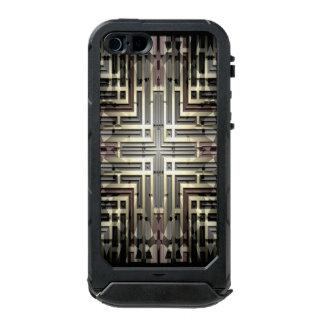 Bronze Grid iPhone SE/5/5S Incipio ATLAS ID Case