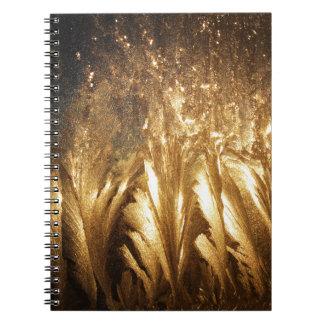 Bronze Ice Notebook