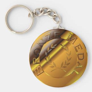 Bronze Medal Keychain