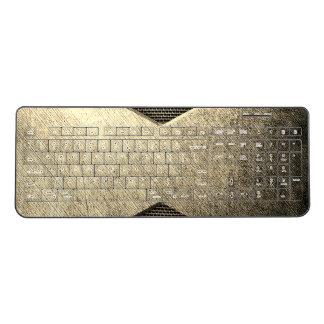 Bronze Metal wireless keyboard