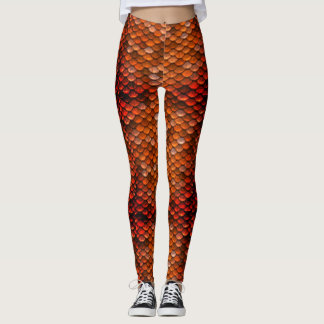 Bronze Mother of Dragons Dragon Scale Leggings