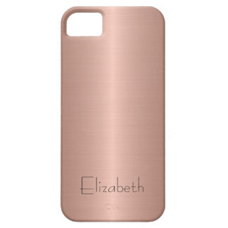 Bronze Stainless Steel Metal iPhone 5 Cases