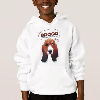 BROOD basset hoodie