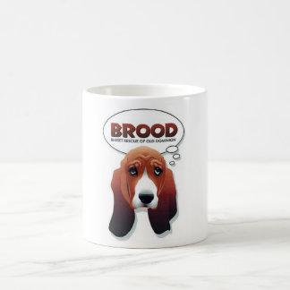 BROOD basset mug