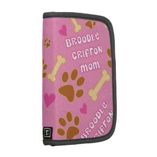Broodle Griffon Dog Breed Mom Gift Idea Planner