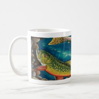 Brook Trout and Rainbow Trout Coffee Mugs