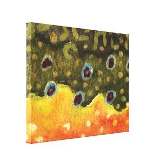 Brook Trout Canvas Print