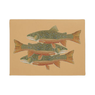 Brook Trout Doormat