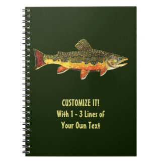 Brook Trout Fisherman's Notebooks