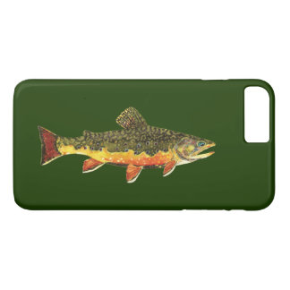 Brook Trout Fishing, Ichthyology iPhone 8 Plus/7 Plus Case