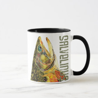 Brook Trout Fishing Mug