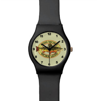 Brook Trout Fly Fisherman's Watches